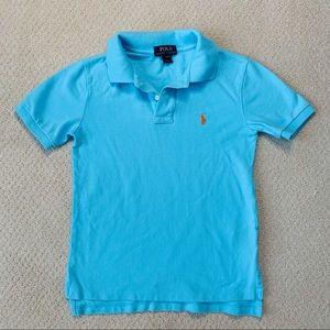 POLO Boys Short Sleeve Polo - Size 8